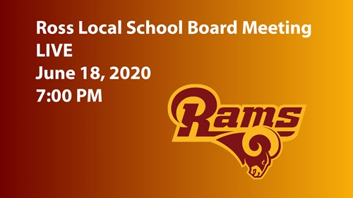 Ross Local Schools Board of Education Meeting Live Link