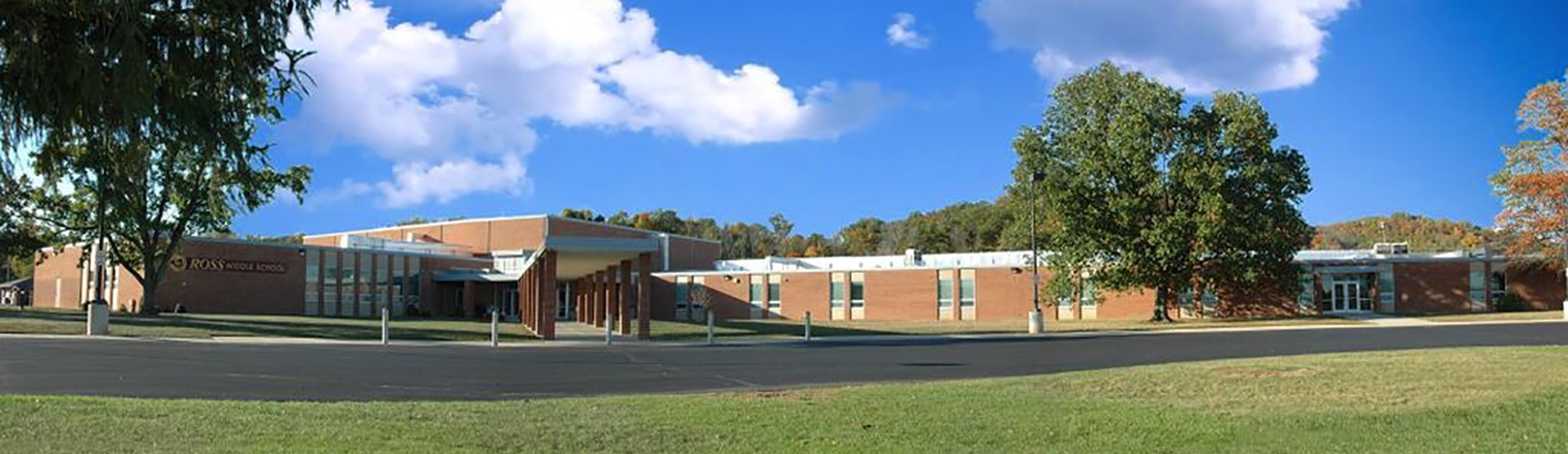 A photo of Ross Middle School